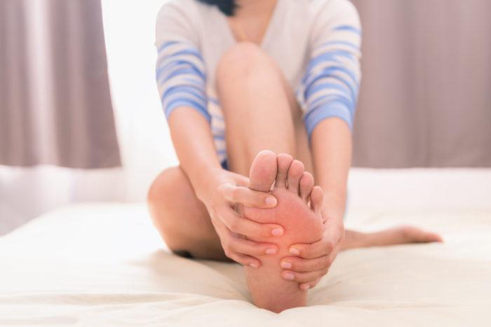 crampe de picior și pierderea în greutate