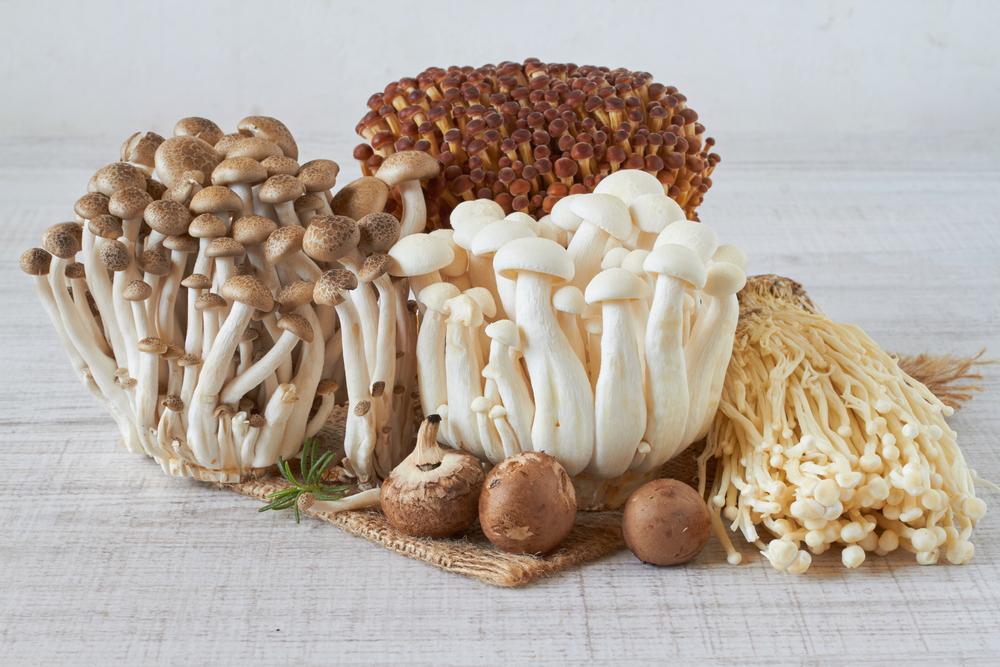 pierderea în greutate enoki ciuperci)